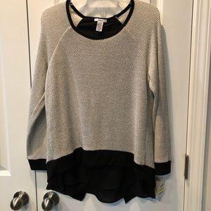 Bar III Sweater Top